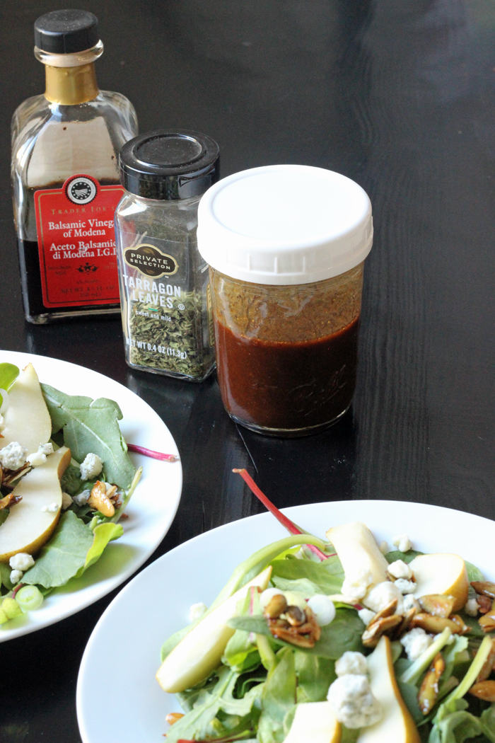 Tarragon Balsamic Dressing | Good Cheap Eats