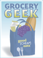 Grocery Geek - A weekly report on how one mom feeds her family of eight healthier, real food on a budget.