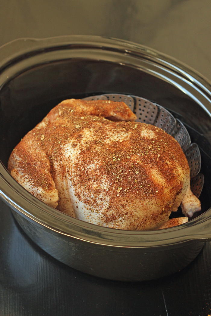 How to Cook a Chicken in the Slow Cooker | Good Cheap Eats