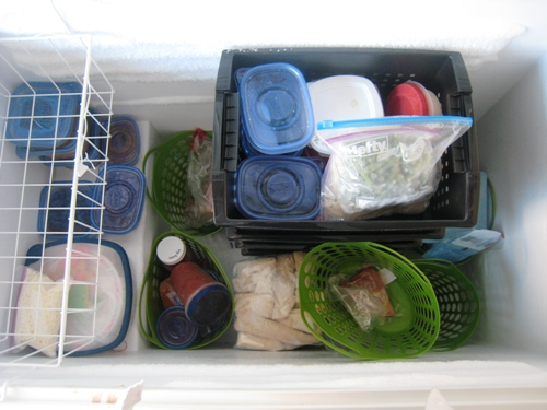 Tips for Organizing the Freezer