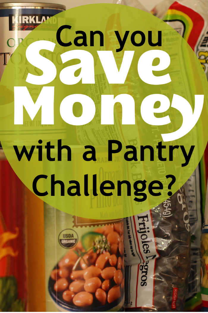 Can You Save Money with a Pantry Challenge?