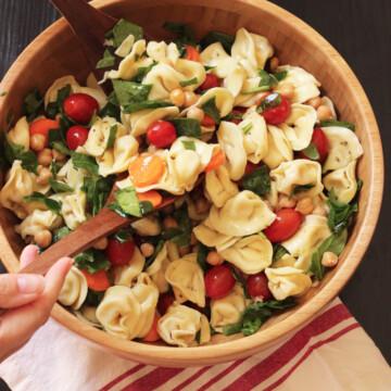 Tortellini Pasta Salad | Good Cheap Eats