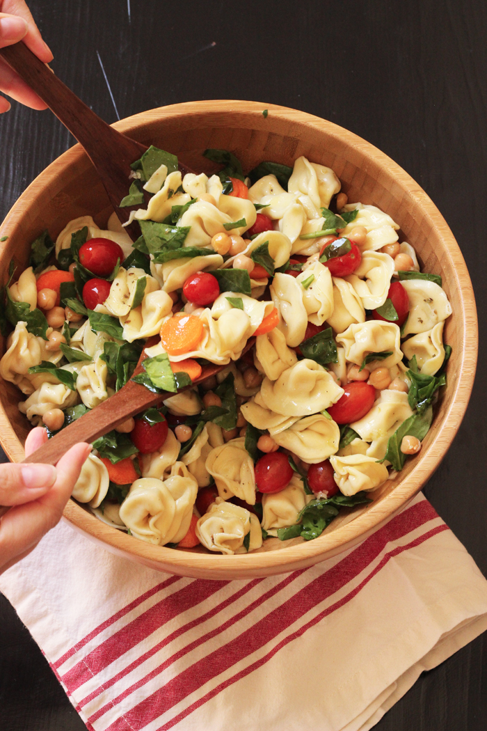 Tortellini Pasta Salad | Good Cheap Eats