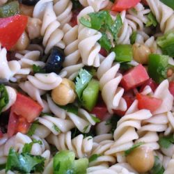 Mexican Rice Pasta Salad