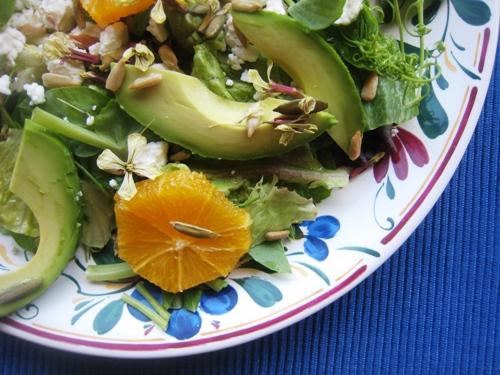 Pea Tendril Salad Recipe