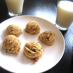 Chocolate Coconut Walnut Cookies sm