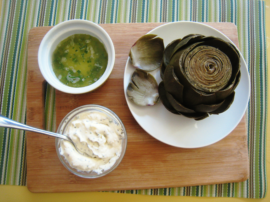 Lemon Butter Sauce for Artichokes