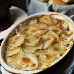 Tastiest Scalloped Potatoes from Good Cheap Eats