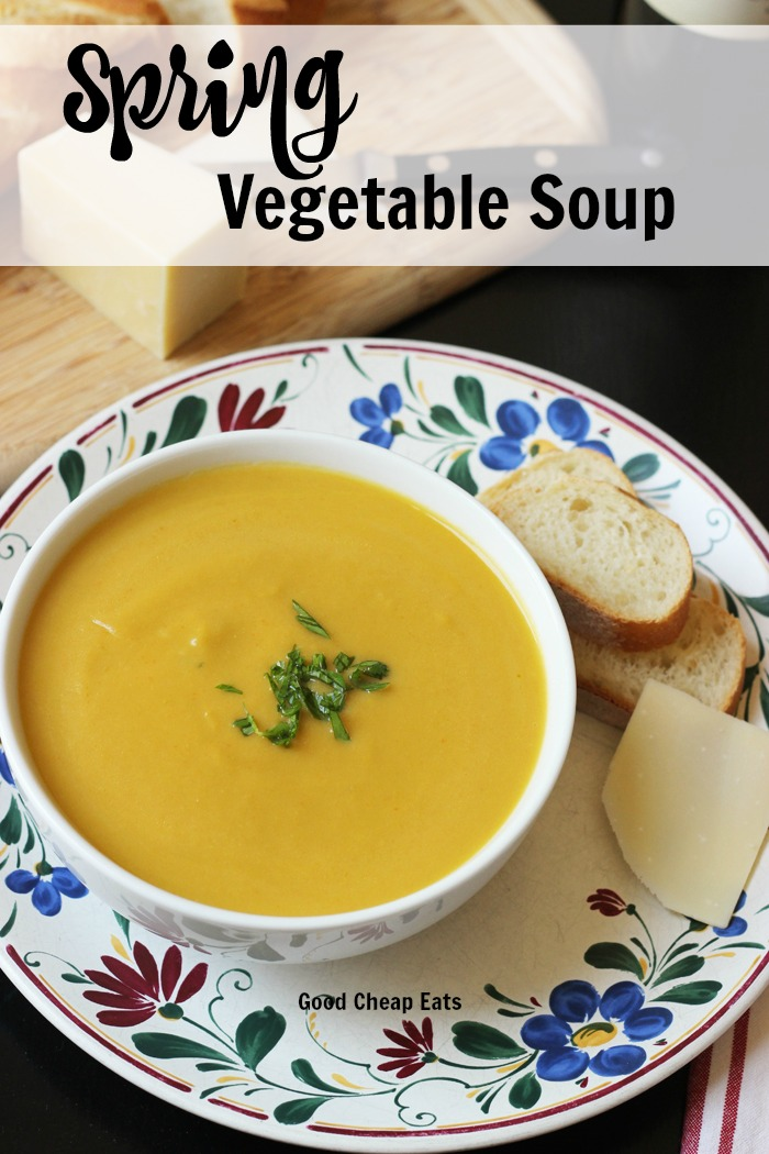 Spring Vegetable Soup | Good Cheap Eats