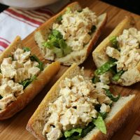 Chicken Caesar Sandwiches for a Quick & Simple Meal