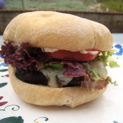 Cilantro-Chipotle Cheeseburgers