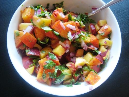 What to Do with Peaches (Recipe: Peach Salsa) | Good Cheap Eats