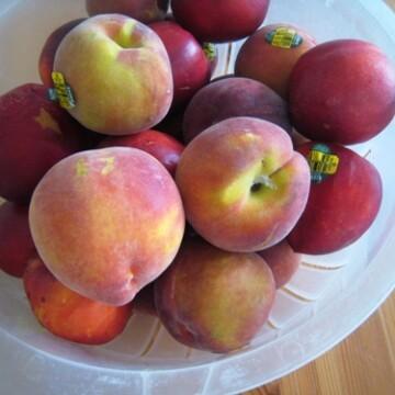 A bowl of summer fruit