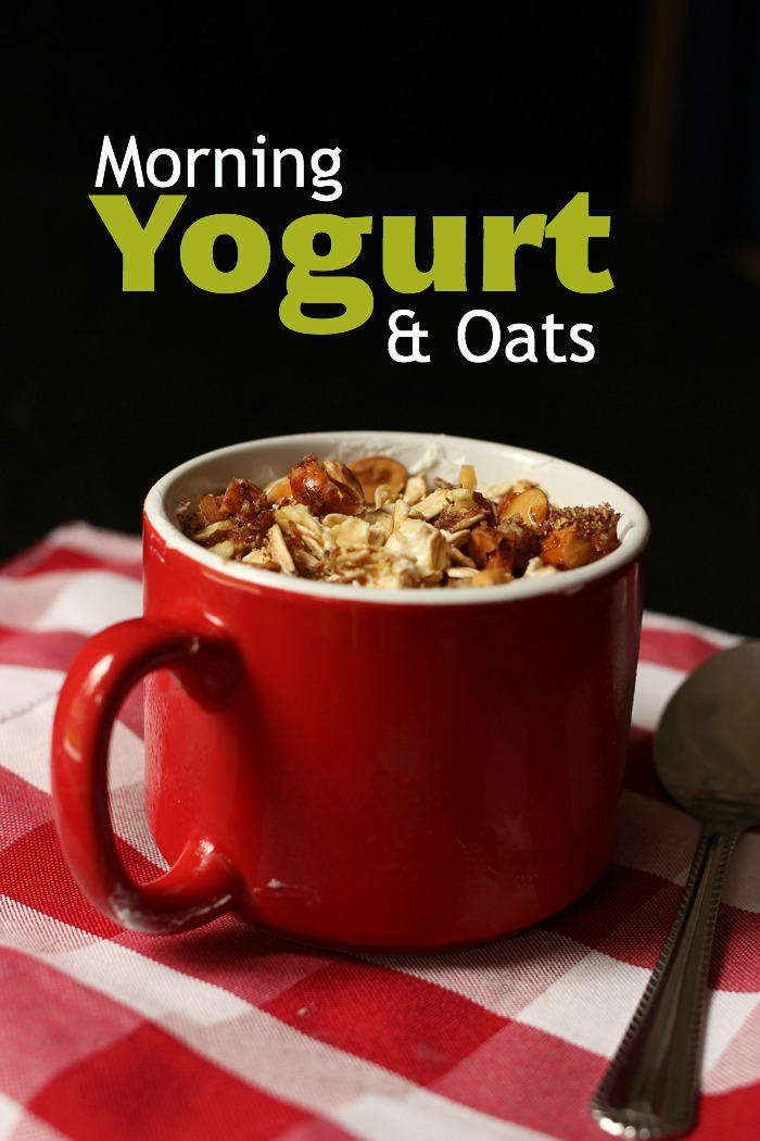 Cup of Yogurt and Oats