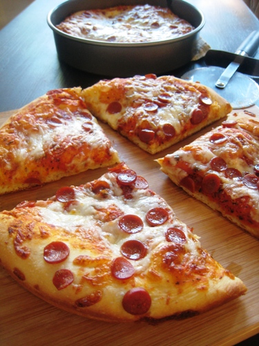 Make Your Own Pan Pizza