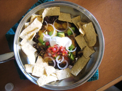 Easy Nacho Appetizer Away from Home