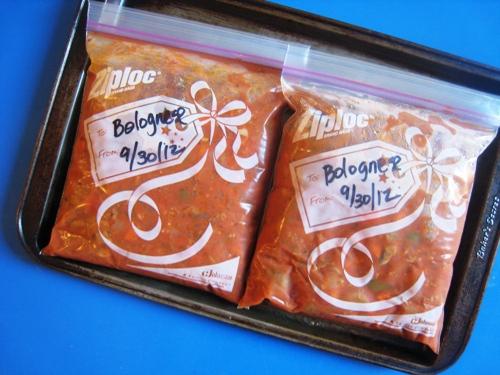 Make a Big Batch of Sauce to Freeze