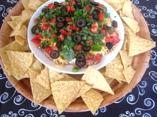 Seven Layer Dip unprocessed