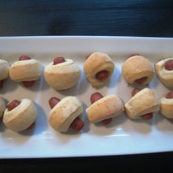 Homemade PIgs in Blankets