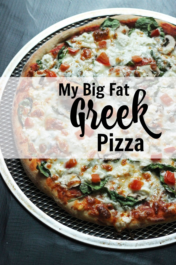 My Big Fat Greek Pizza | Good Cheap Eats