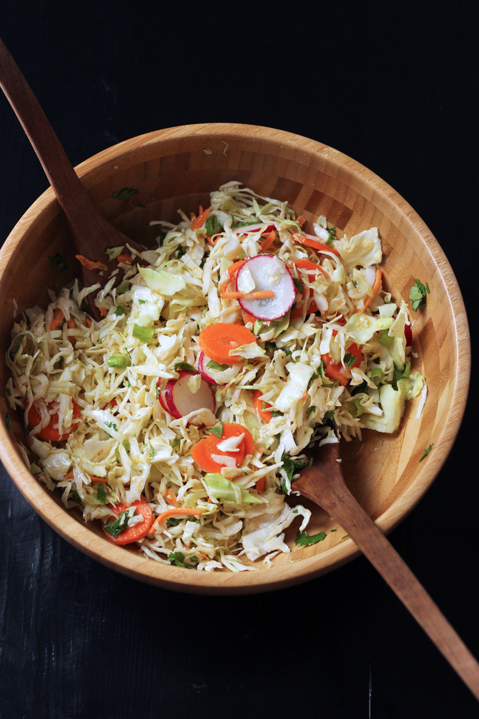 Cumin-Scented Cabbage Salad from Good Cheap Eats