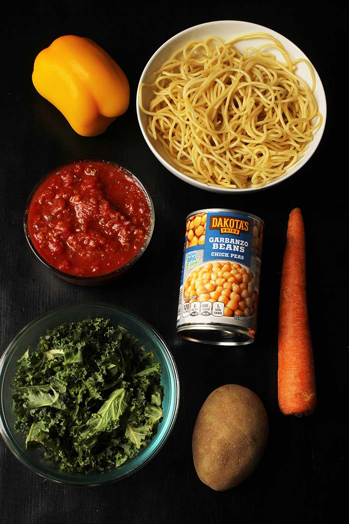 ingredients for quick minestrone