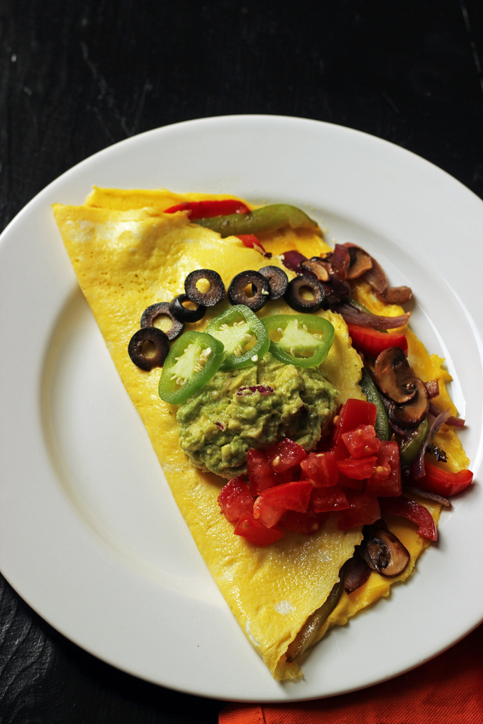 Fajita Omelet - A Spicy Start to the Day - Good Cheap Eats
