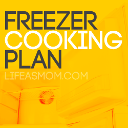FREE Downloadable Freezer Cooking Plan