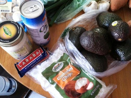 healthy fats avocado coconut