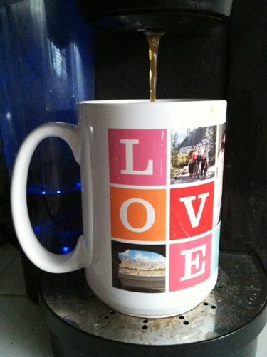 Keurig brewer Love cup