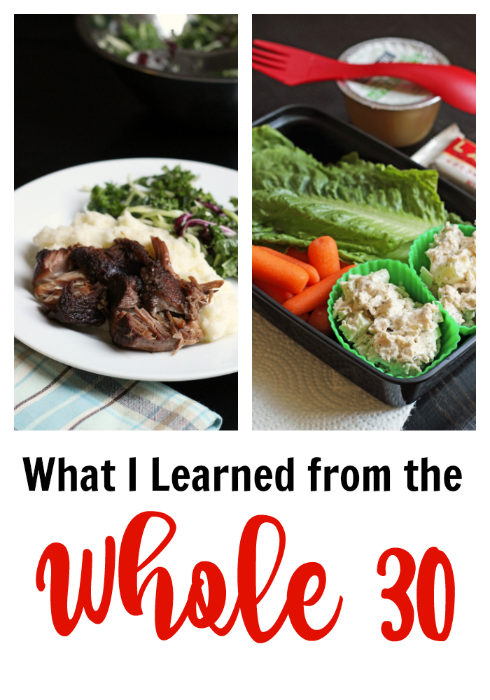 What I Learned from the Whole 30 | Good Cheap Eats