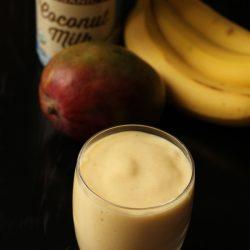 Coconut Mango Banana Smoothie