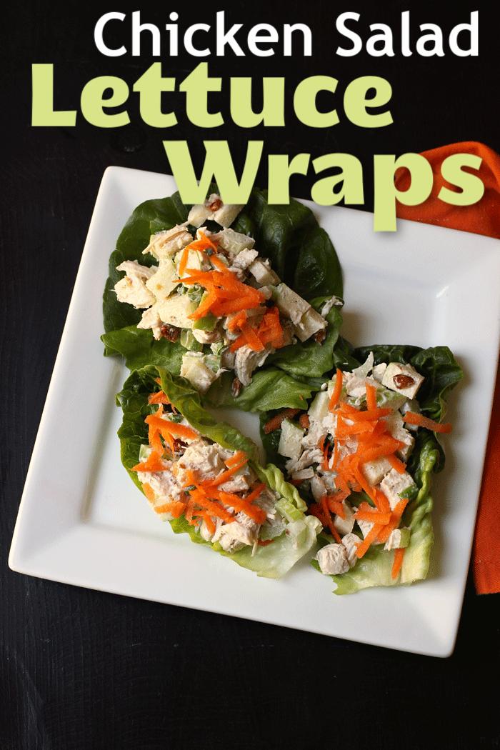 Chicken Salad Lettuce Wraps   Good Cheap Eats
