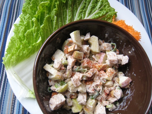 Chicken Salad with Napa Cabbage