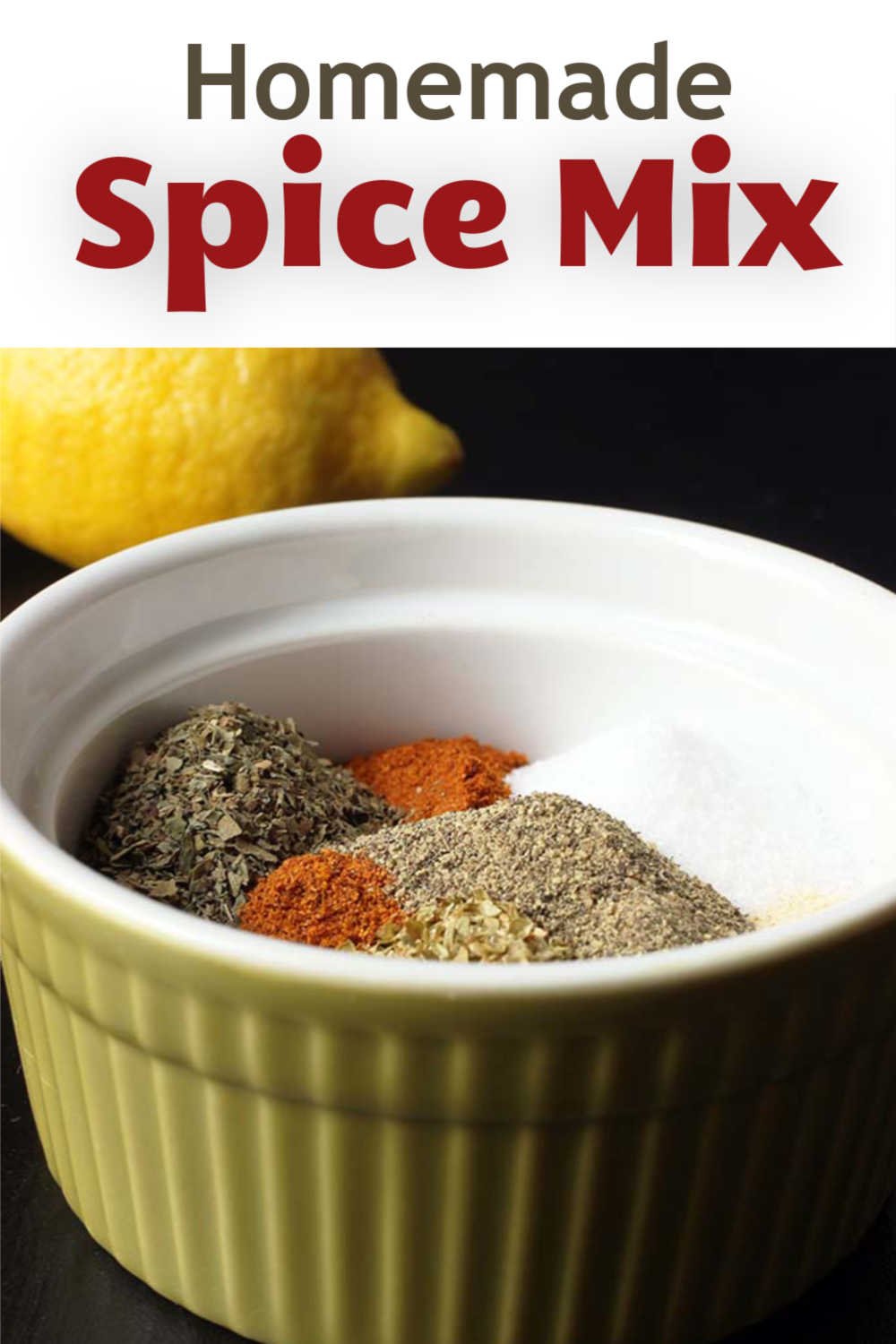 A bowl of Spice mix ingredients