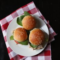 Pulled Chicken Sliders for a Quick Easy Supper