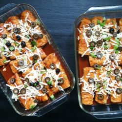 Chicken and Chile Enchiladas for a Crowd