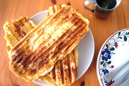 French toast from the panini press