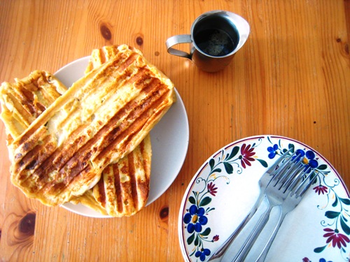 Panini press french toast