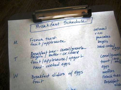Plan Easy Meals