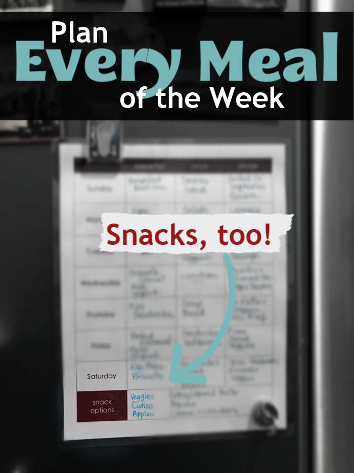 Plan Every Meal of the Week | Good Cheap Eats