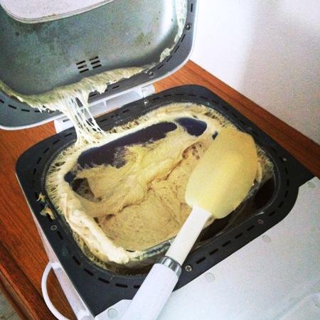 bread machine blowout