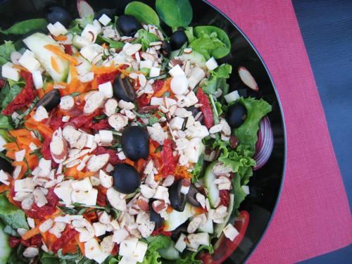 pepper jack tomato salad