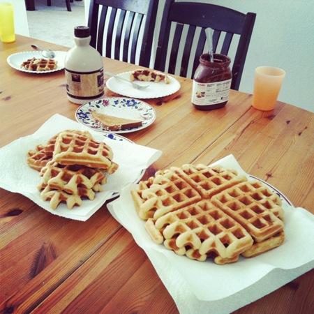 waffles breakfast pantry challenge