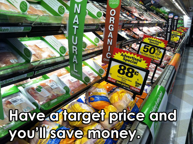 Have a Target Price to Save Grocery Money