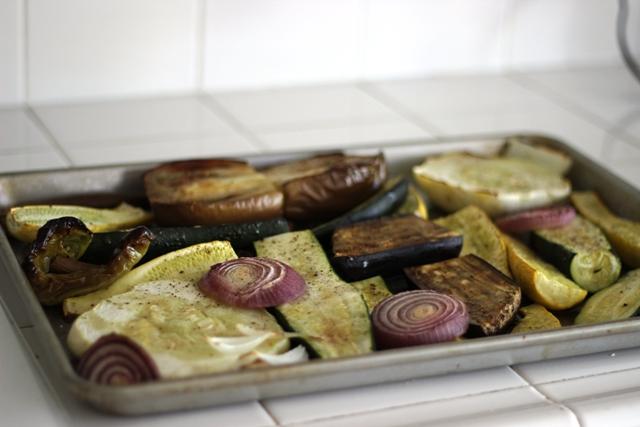 Roasted Squash & Eggplant