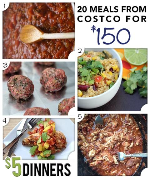 20 meals costco