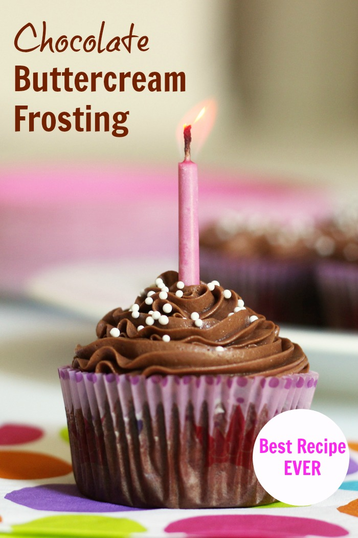 Chocolate Buttercream Frosting For Cake Decorating