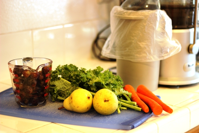 ingredients for juicing