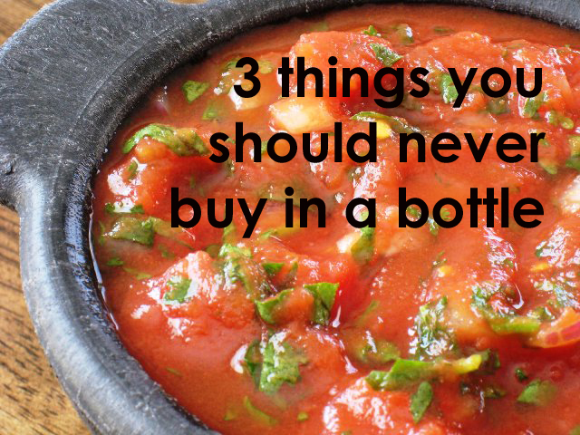 3 things you should never buy in a bottle